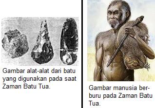 gambar kehidupan zaman batu tua