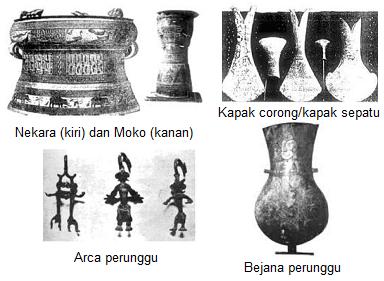 gambar peninggalan zaman logam