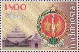 perangko lambang d.i. yogyakarta