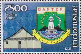 perangko lambang provinsi banten