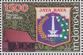 perangko lambang provinsi dki jakarta