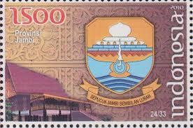 perangko lambang provinsi jambi