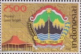 perangko lambang provinsi jawa tengah