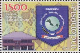 perangko lambang provinsi kepulauan bangka belitung