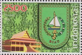 perangko lambang provinsi riau