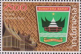 perangko lambang provinsi sumatera barat